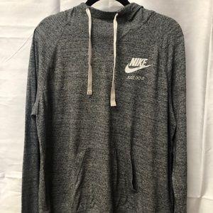 Nike grey hoodie XL